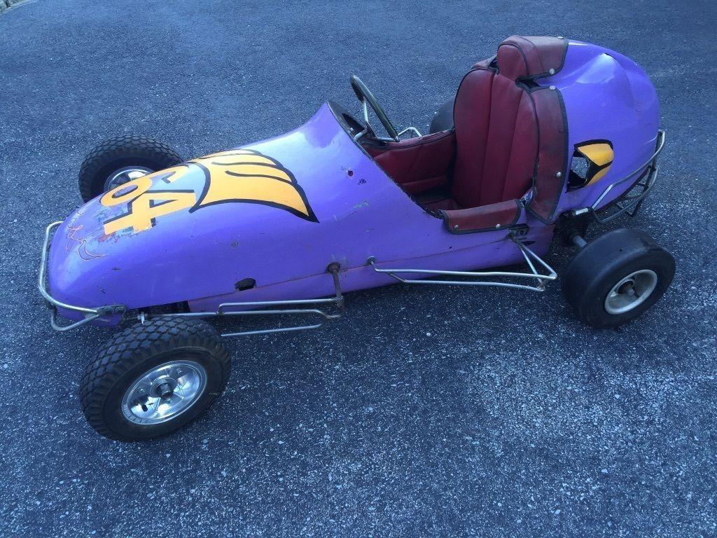 1958 Wahlborg 1/4 Midget mini race car go kart for sale