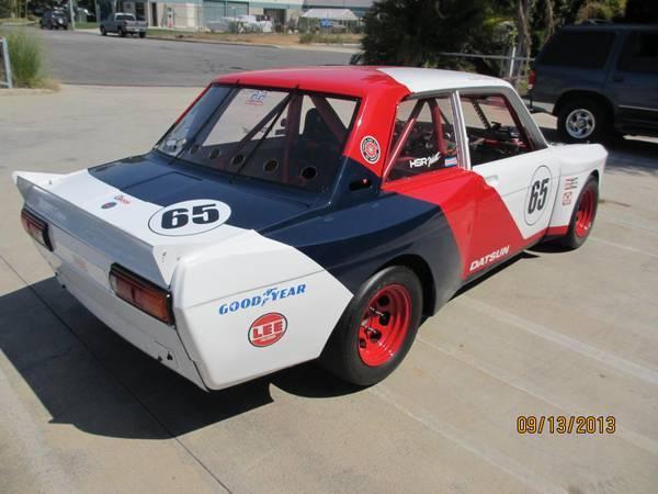 1972 Datsun 510 SCCA Vintage Race Car for sale