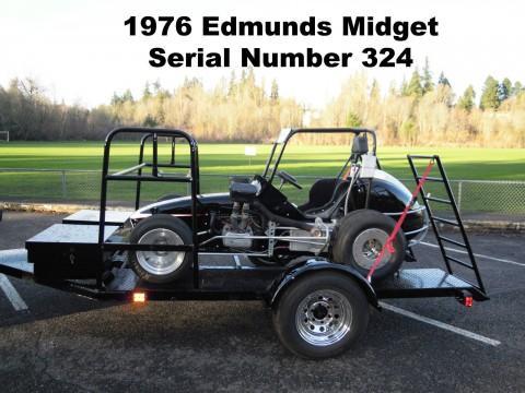 1976 Don Edmunds Midget Open Wheel Circle Track Vintage Race Sprint Car #324 for sale
