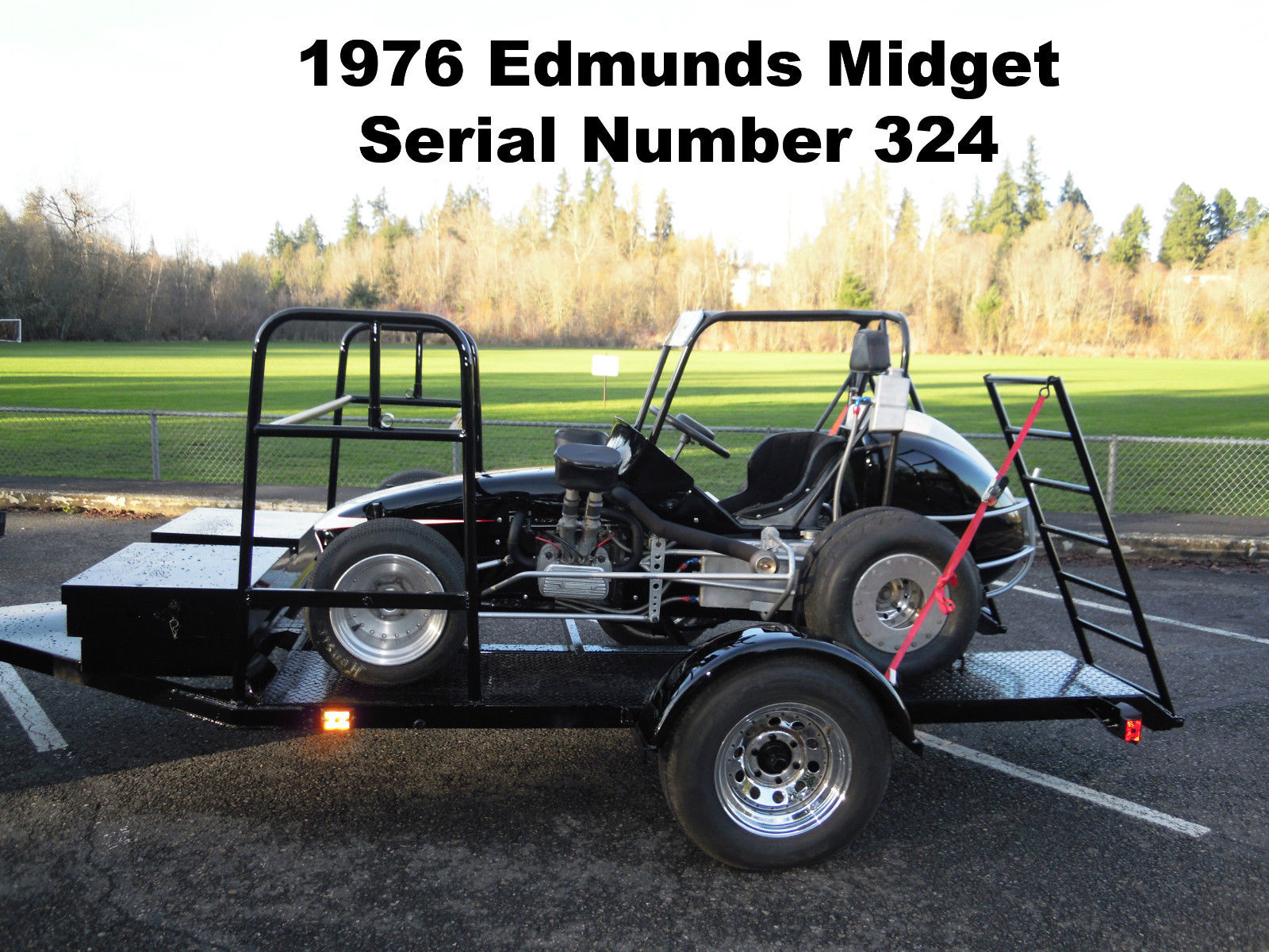 1976 Don Edmunds Midget Open Wheel Circle Track Vintage Race Sprint ...