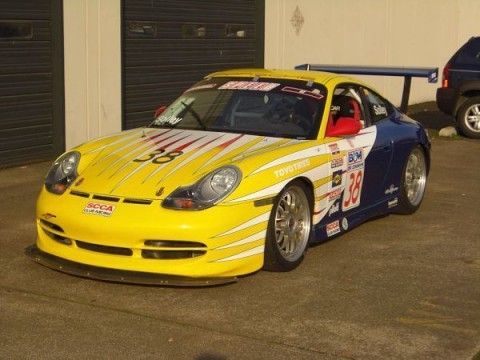 1999 Porsche 996 GT3 World Challenge race car, SVRA, HSR, SCCA, vintage racing for sale