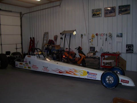 2005 Dragster race car rolling for sale