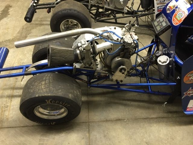 2005 Half Scale Jr. Dragster for sale