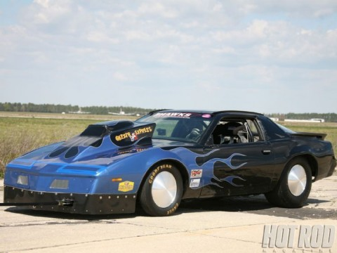 204 mph Standing Mile LSR Pontiac Firebird for sale