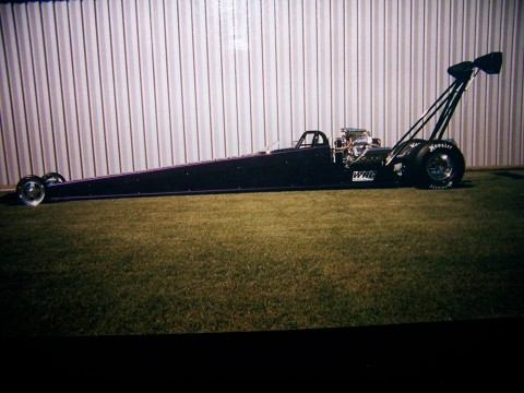 264″ Wheelbase WRC Blown & Injected Alcohol Rear Engine Dragster Rolling Chassis for sale