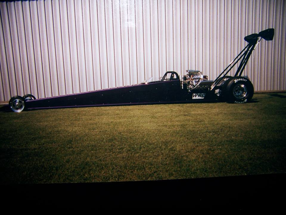 264″ Wheelbase WRC Blown & Injected Alcohol Rear Engine Dragster ...
