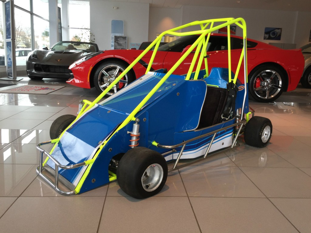 Bullrider Quarter Midget Race Kart For Sale