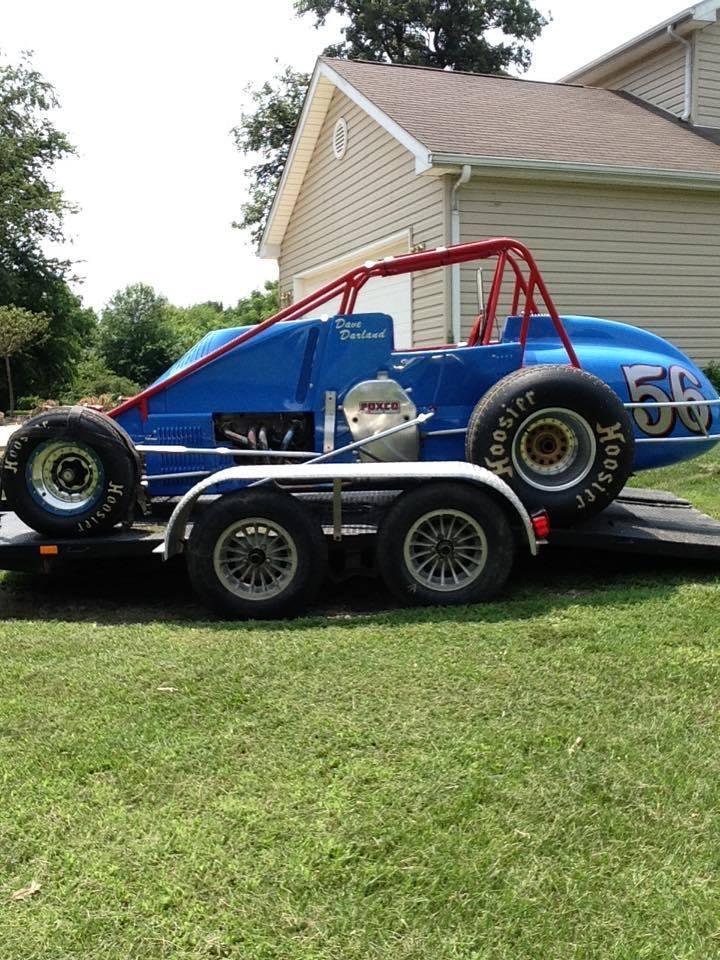 Mid 80's J&J dirt Champ race car for sale