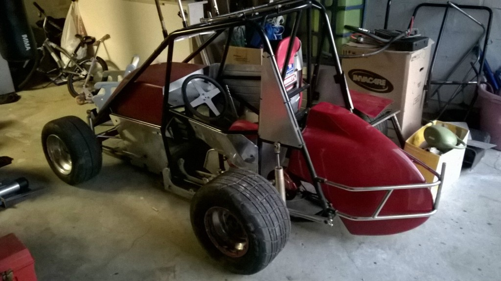 Mini Sprint car Rolling Chassis project for sale