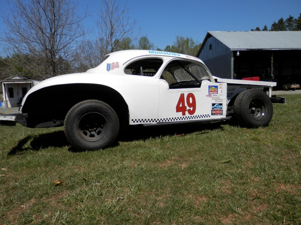 1941 Chrysler Coupe on a 1975 Monte Carlo Vintage Race Car for sale