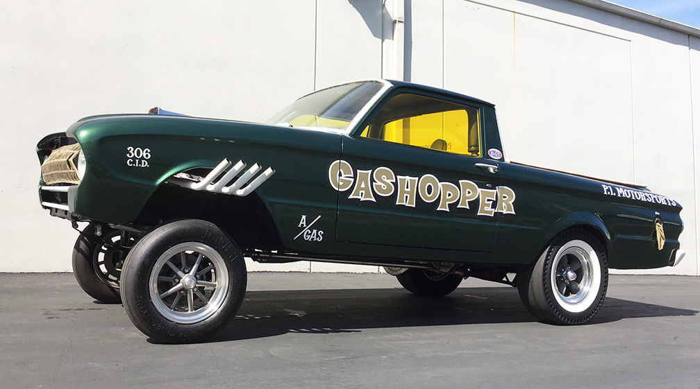 1961 Ford Falcon Ranchero Gasser Gashopper For Sale