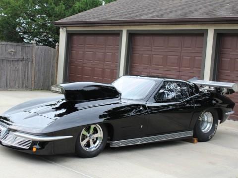 1963 Chevrolet Corvette Double Framrail Drag Race Car for sale