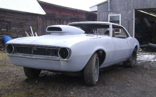 1967 Camaro Firebird Race Car Project For Sale