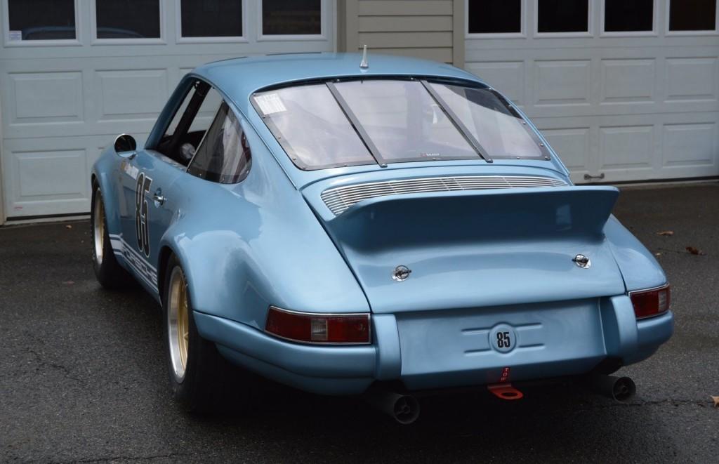 1967 Porsche 911 Vintage road Race Car. SVRA Group 8