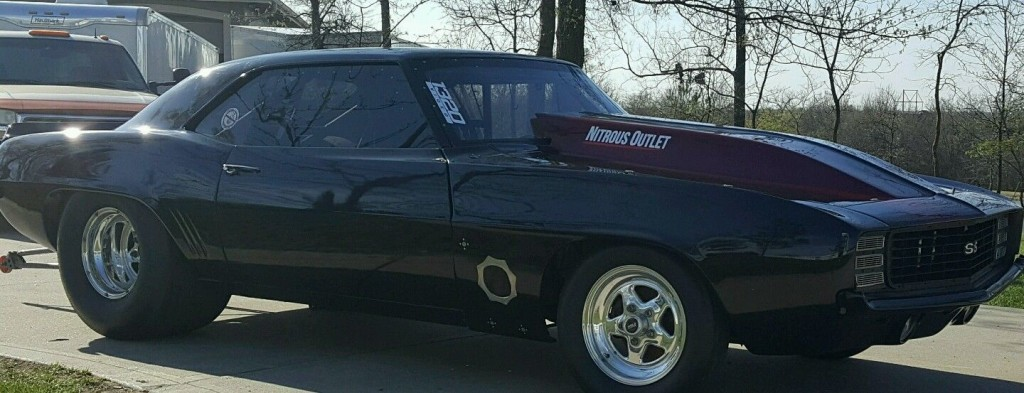 Trucks For Sale 1969 Chevrolet Camaro Drag Car, Race Car | Race cars for sale