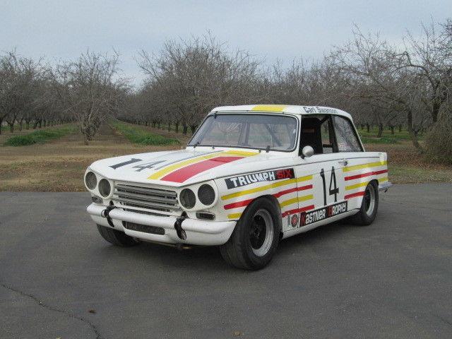 Vintage Triumph Car 117