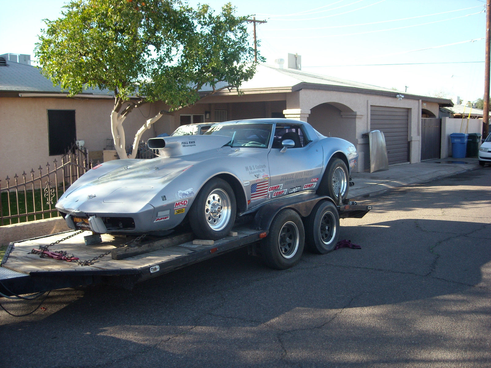 Chevrolet Corvette Drag Car For Sale on 1978 Malibu Frame