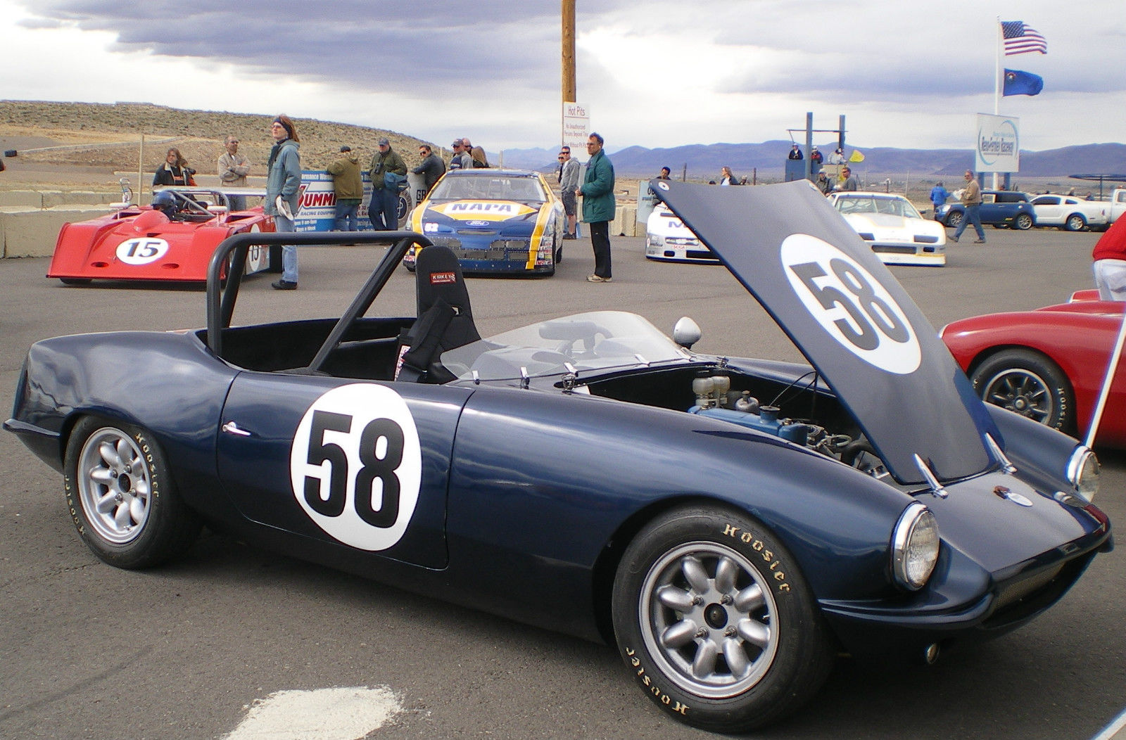 Elva Courier Mk 4t Vintage Race Car Irs Mgb 1800 Powered