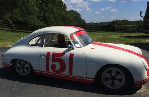 1960 Porsche 356B Race Car Race Prepped 1.6 Liter Motor for sale