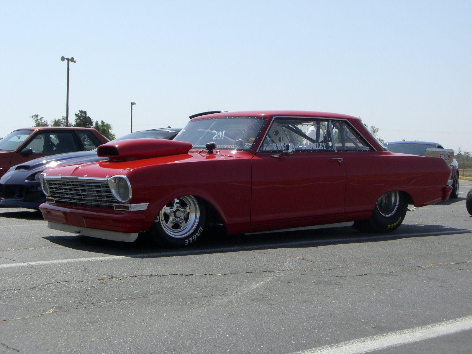 1964 Chevrolet Nova Drag Racing Race Car Chevy Ii Hot