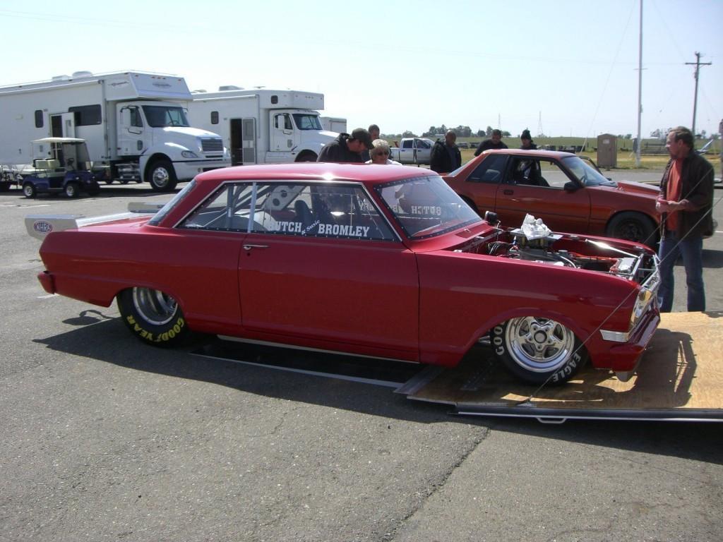 1964 Chevrolet Nova Drag Racing Race Car Chevy Ii Hot Street Rod For