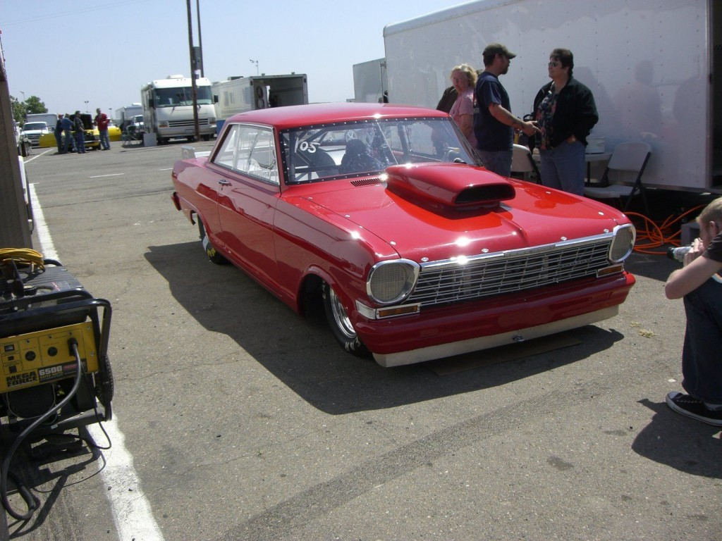 1964 Chevrolet Nova Drag Racing Race Car Chevy II Hot Street Rod for