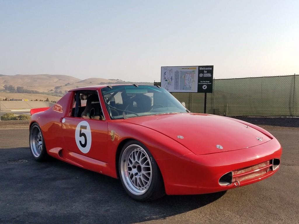 1972 Porsche 914/6 with 993 3.6L Varioram Racecar