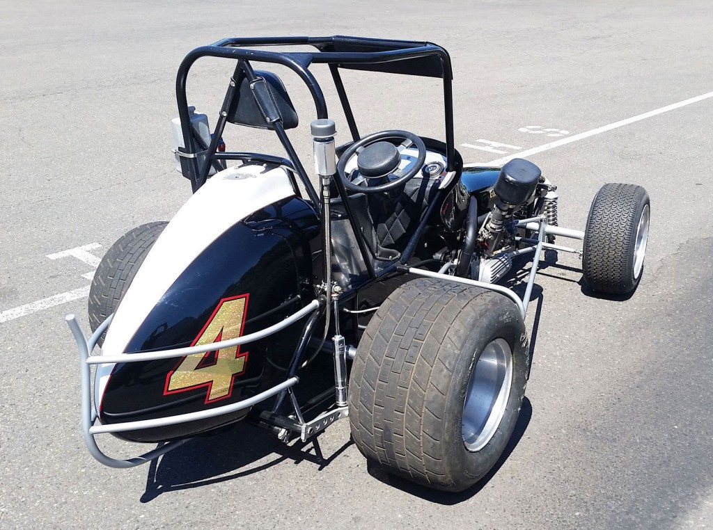 Midget race car chassis super