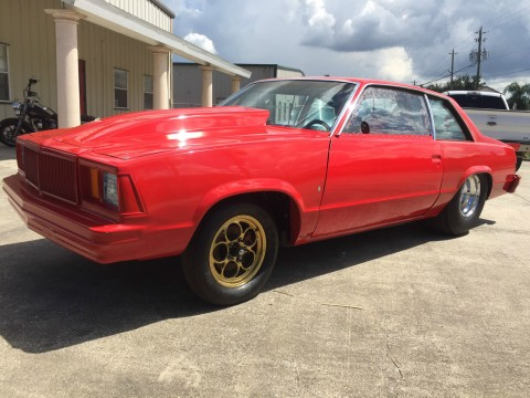 1979 Chevrolet Malibu Drag Race   12 pt. Cert. Cage, Tubbed, 9″, Ladder Bars, Title! for sale