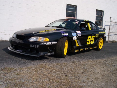 1997 Saleen # 217 Ford Mustang Race Car for sale