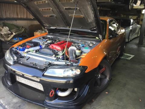 700hp Nissan Silvia Race car / Drift Car for sale