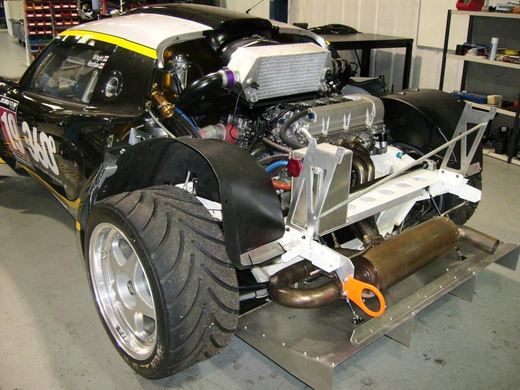 Lotus Exige GT3 Race Car for sale