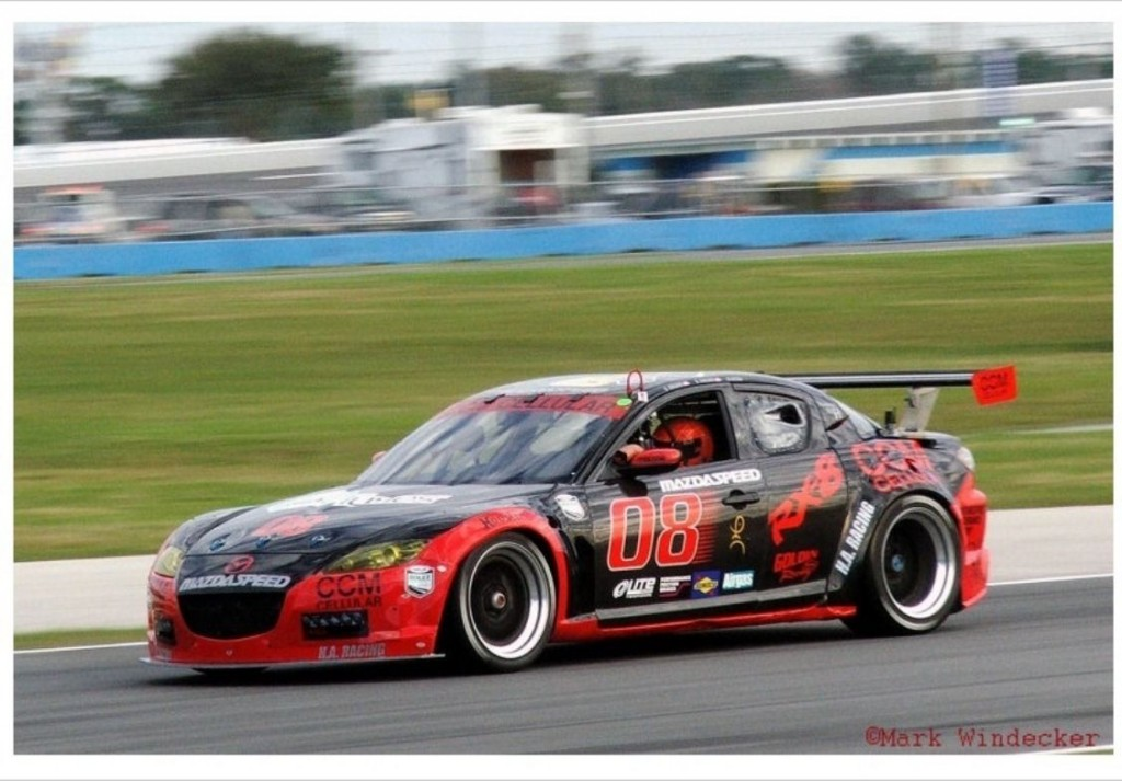 Mazda RX8 GT Race Car 20B Rotary IMSA Grand Am SCCA HSR