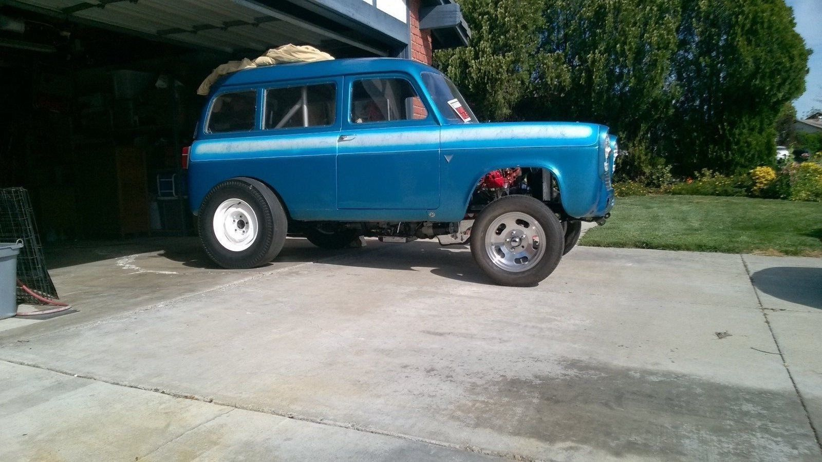 1957 Anglia old drag car for sale