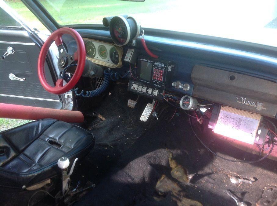 1962 Chevy Nova Race Car Roller
