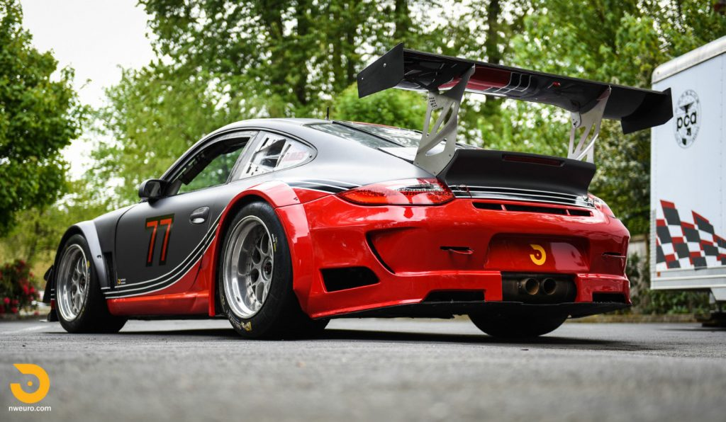 Porsche 911 GT3 Cup Car with RSR Upgrades