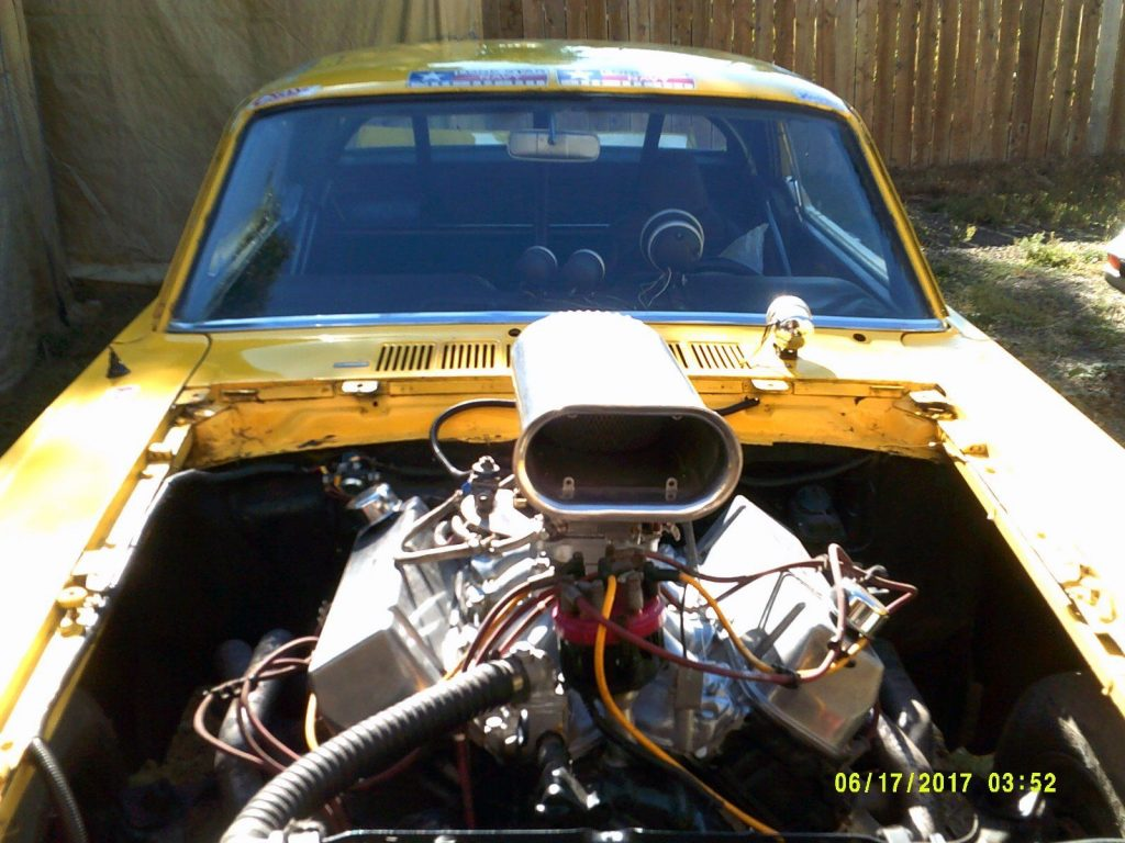 1965 Ford Mustang Race Car Ford 460 C.I V-8 (1973 block)