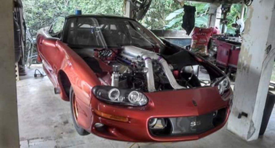 2002 Chevrolet Camaro Super Sport Outlaw 10.5 Twin Turbo ...
