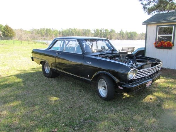 Beautiful 1963 Chevy II drag car
