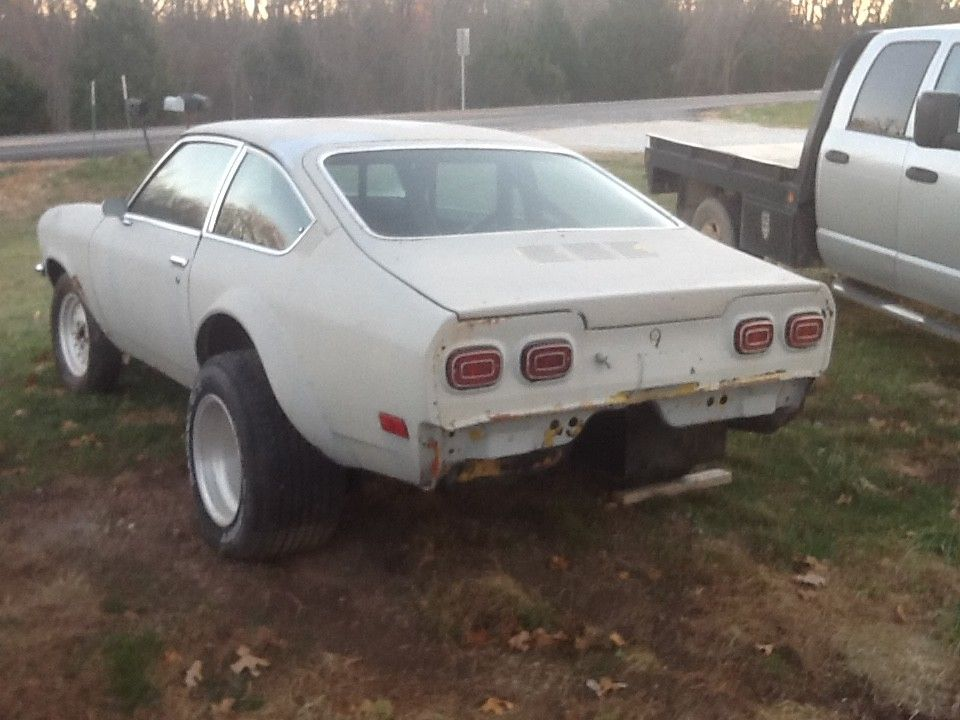 1971 Chevy Vega Old School Rolling Drag Car Project Car