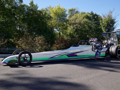 235 INCH ED QUAY REAR ENGINE DRAGSTER for sale