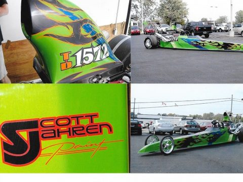 2006 Mike Bos 240″ Swingarm Dragster – Excellent! Race Ready Roller for sale