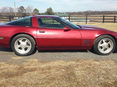GREAT 1991 Chevrolet Corvette ZR-1 for sale
