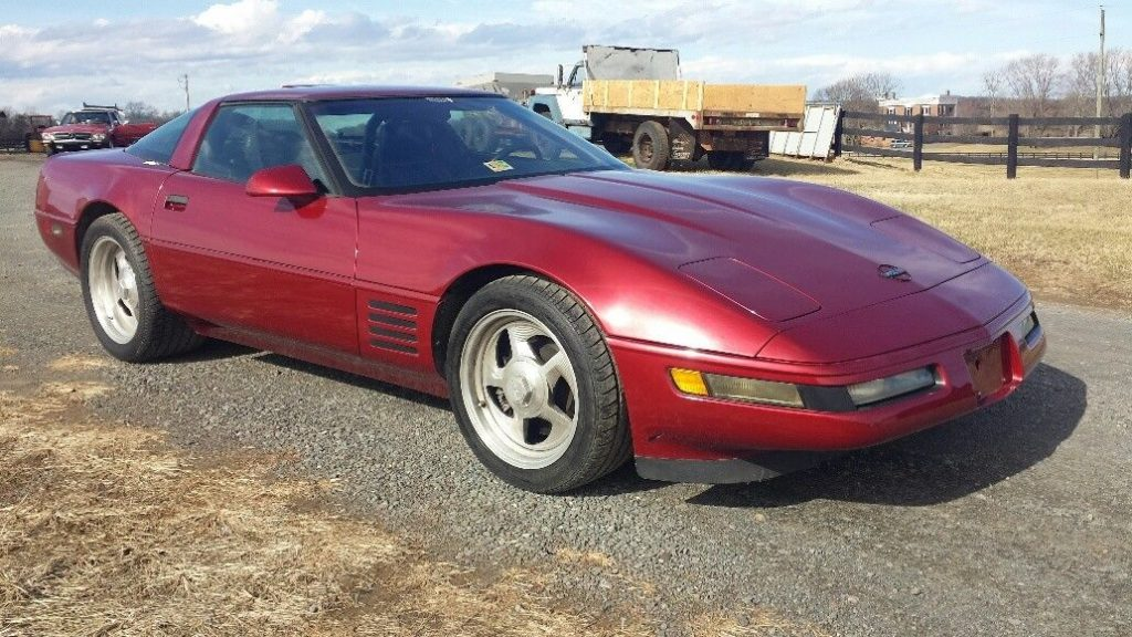 GREAT 1991 Chevrolet Corvette ZR-1