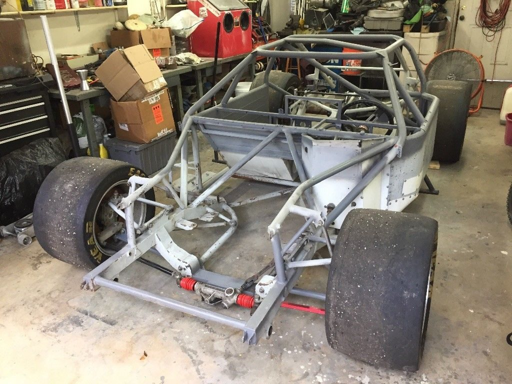 Gt1 Corvette Camaro Mustang Trans AM Racecar Rolling Chassis ...