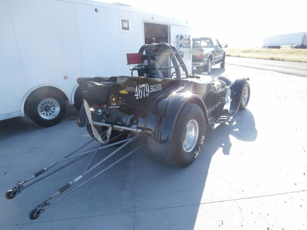 1927 Ford Roadster SG/SR W/ 28-Ft Storm Enclosed Trailer