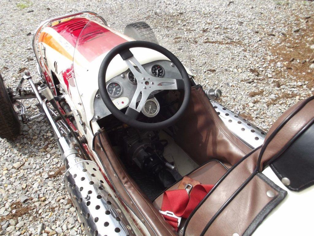 1948 Hillegas Midget Crossfire Ford V8 60hp Vintage Race Car Indycar