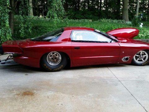 2002 Pontiac Firebird glassteck body mild steel chassis Drag race car for sale