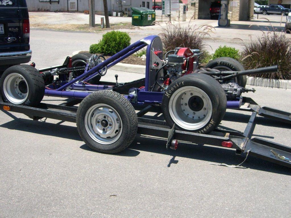 Autocross Racecar Track Ready Mid Engine w/Trailer
