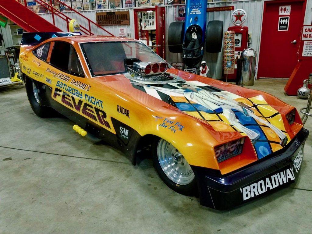 1976 Chevy Monza Nitro Nostalgic Funny car Saturday Night Fever